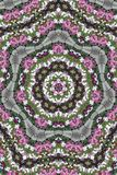 Kaleidoscope Garden royalty free illustration