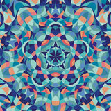 Kaleidoscope geometric colorful pattern. Abstract Royalty Free Stock Images