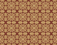 Kaleidoscope Gold seamless pattern for Your Desing Royalty Free Stock Image