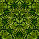 Kaleidoscope in green. Kaleidoscope designed for relaxing leisure Stock Images