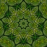 Kaleidoscope in green Stock Images