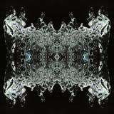 Kaleidoscope, ice butterfly Stock Photo