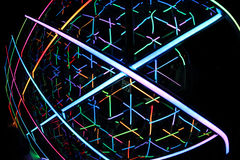 Kaleidoscope Light Vivid Sydney 2014 Stock Photo