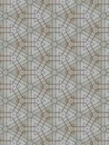 Kaleidoscope of the lines Royalty Free Stock Photo