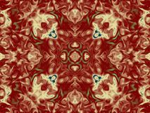 Kaleidoscope mess Stock Photos