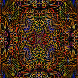 Kaleidoscope, mosaic background  motley Royalty Free Stock Image