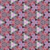 Kaleidoscope mosaic rose hip  texture. Kaleidoscope mosaic rose hip pink texture Royalty Free Stock Images
