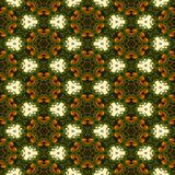 Kaleidoscope mosaic seamless texture or background Royalty Free Stock Image