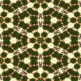 Kaleidoscope mosaic seamless texture or background Royalty Free Stock Images