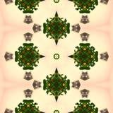 Kaleidoscope mosaic seamless texture or background Stock Image