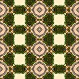 Kaleidoscope mosaic seamless texture or background Stock Photography