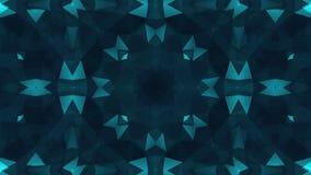 Kaleidoscope motion background. stock video footage