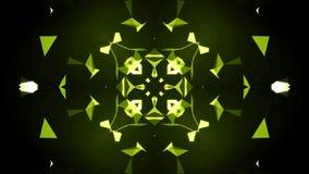 Kaleidoscope motion background. stock footage