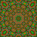 Kaleidoscope multi colored. Element multi colored kaleidoscope mandala Royalty Free Stock Photography