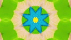 Kaleidoscope, multicolor stock video