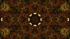 Kaleidoscope, mushrooms stock video footage