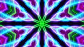 Kaleidoscope, NEO neon electric stock video