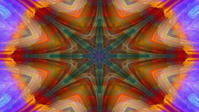Kaleidoscope, pastel colors. Abstract kaleidoscope, loop able, full HD stock video