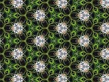 Kaleidoscope Pattern Art Fantasy Background Stock Images