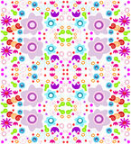 Kaleidoscope pattern background Royalty Free Stock Images