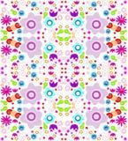Kaleidoscope pattern background vector illustration