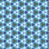 Kaleidoscope Pattern Background Stock Photos