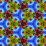 Kaleidoscope pattern. Stock Photo