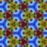 Kaleidoscope pattern. Stock Photo