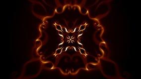 Kaleidoscope pattern stock footage
