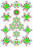 Kaleidoscope patterns Royalty Free Stock Photography