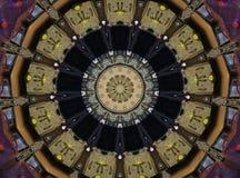 Kaleidoscope photo of carbinet Royalty Free Stock Images