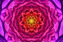 Kaleidoscope rainbow colors. Kaleidoscope designed for relaxing leisure Royalty Free Stock Images
