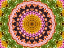 Kaleidoscope ribbon candy Royalty Free Stock Photos