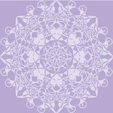 Kaleidoscope rosette. lilac color. Royalty Free Stock Photos