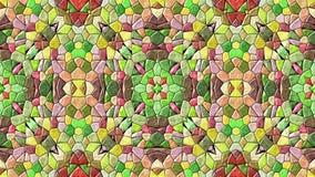 Kaleidoscope seamless background. Generated kaleidoscope seamless background texture Stock Photo