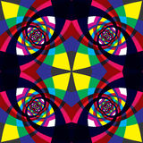 Kaleidoscope seamless pattern. Stock Photo