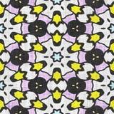 Kaleidoscope seamless pattern- autumn motive Stock Images