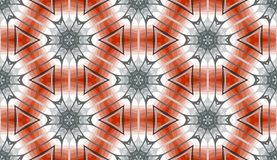 Kaleidoscope. Seamless pattern of colorful kaleidoscope. Vector illustration Royalty Free Stock Photography