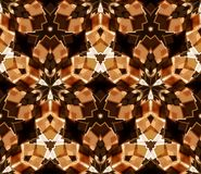 Free Kaleidoscope Seamless Pattern. Composed Of Color Abstract Shapes. Stock Images - 105923414