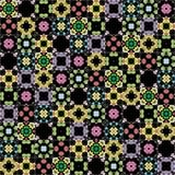 Kaleidoscope seamless pattern Stock Photography