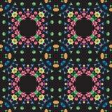 Kaleidoscope seamless pattern Royalty Free Stock Photo