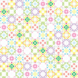 Kaleidoscope seamless pattern Royalty Free Stock Photography