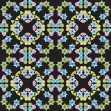 Kaleidoscope seamless pattern Stock Photo