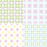 Kaleidoscope seamless pattern Royalty Free Stock Images