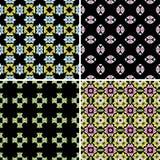 Kaleidoscope seamless pattern Royalty Free Stock Image