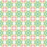 Kaleidoscope of seamless texture Royalty Free Stock Image