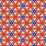 Kaleidoscope of seamless texture Royalty Free Stock Photo