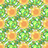 Kaleidoscope. Seamless  texture. Vector pattern. Kaleidoscope seamless  pattern. Can be used in web design, printed on fabric, pape. Background, element in a Royalty Free Stock Photos