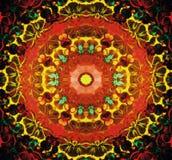 Kaleidoscope, square royalty free illustration