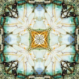 Kaleidoscope Square: Chert Layers, Oregon Coast Royalty Free Stock Image